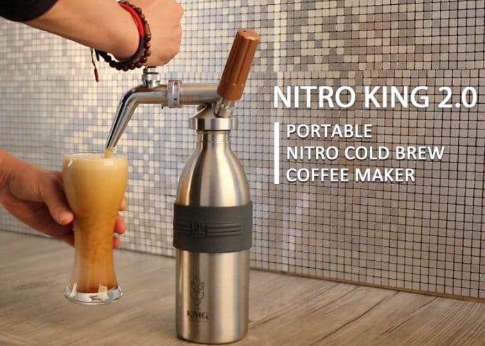 Nitro King Cold Brew Coffee Maker Geeky Gadgets