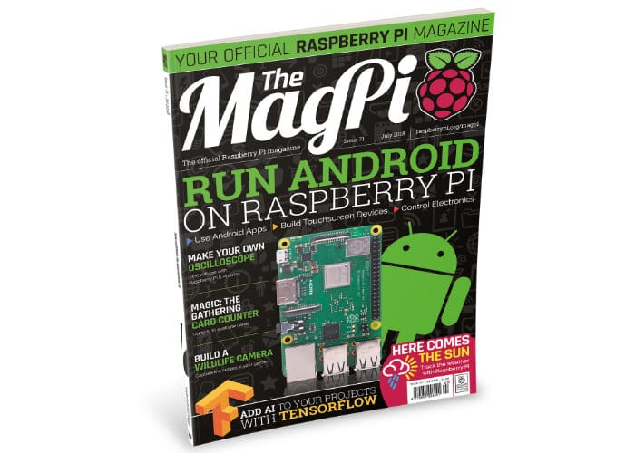 Raspberry Pi Magazine Issue 71