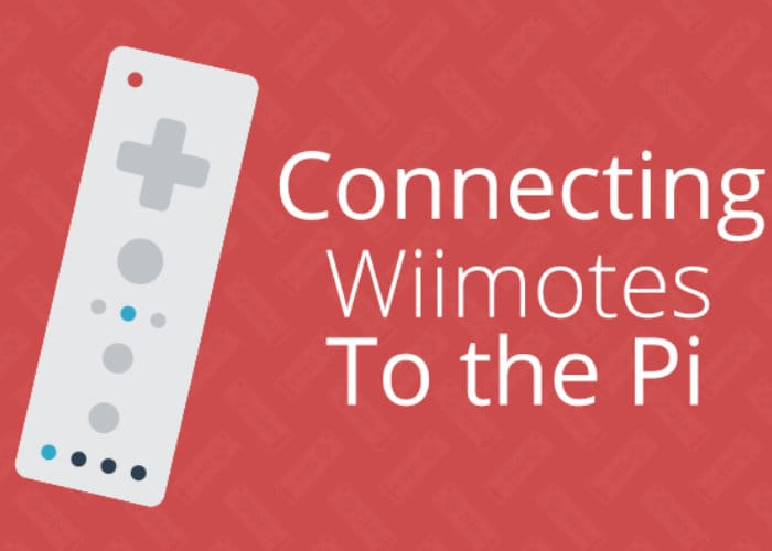 Raspberry Pi Wii Remote
