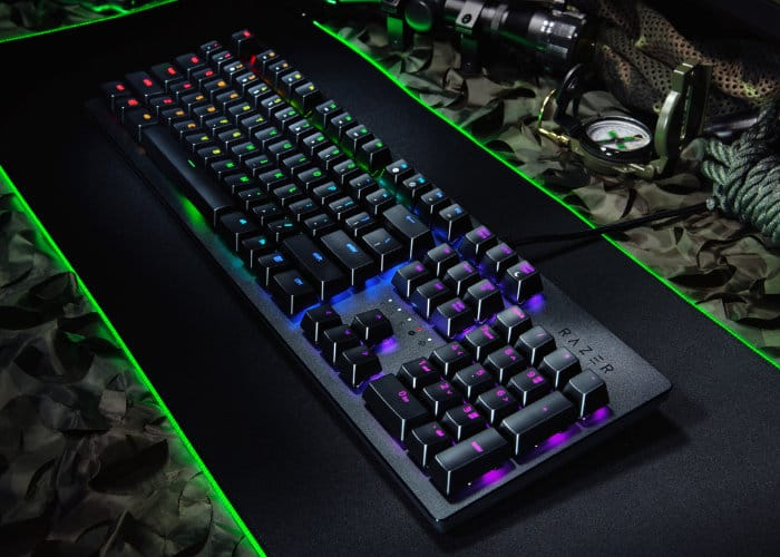 Razer Huntsman Elite With Lightbeam Opto-Mechanical Switches