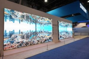 Samsung The Wall Professional MicroLED Display Launched