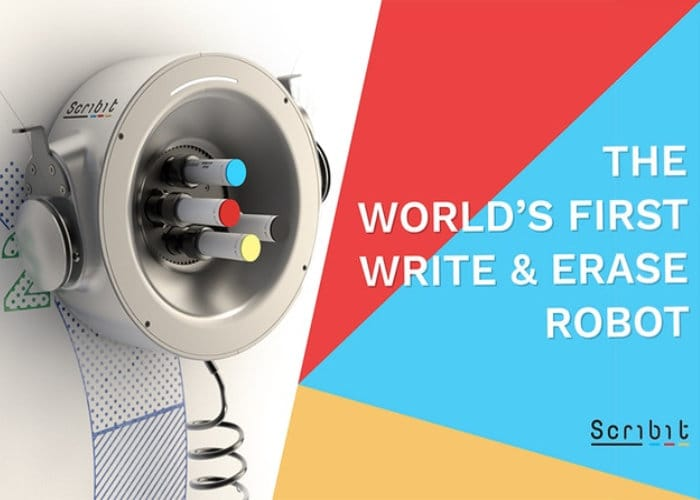 Scribit Write And Erase Robot