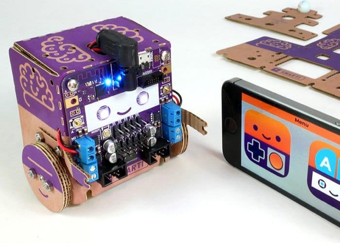 Smartibot AI DIY Cardboard Robot