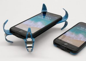 Unique Smartphone Case Deploys Protective Springs When Dropped