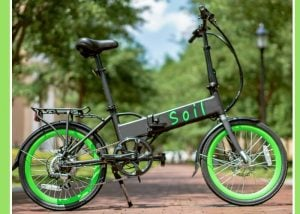 Soil Folding Electric Bike With Samsung Battery, Tektro Brakes, Shimano And More