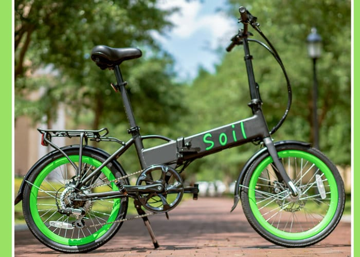 Soil Folding Electric Bike