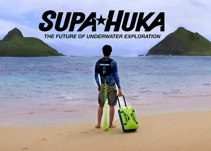 Supa Huka personal diving system