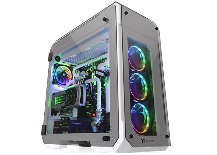 Thermaltake View 71 Tempered Glass Snow Edition Full-Tower Chassis