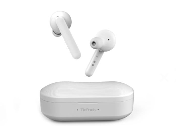 TicPods Free Interactive Earbuds By Mobvoi