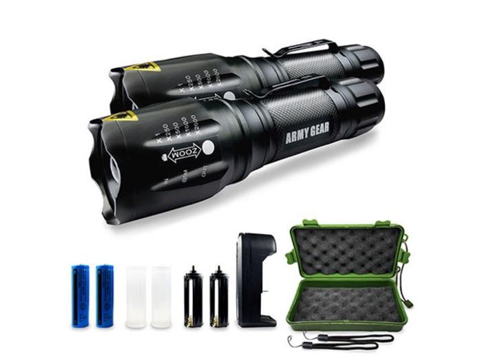 Viper 1000-Lumen Tactical Flashlights