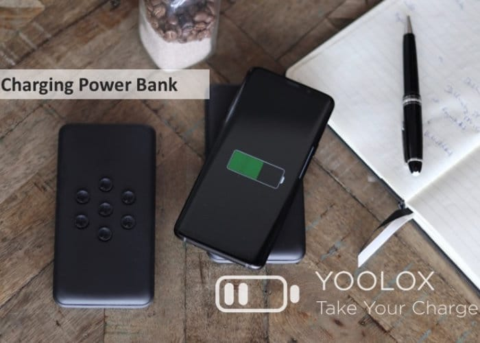 YOOLOX Portable Wireless Charger