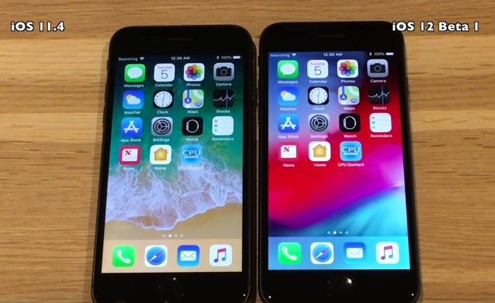 IPHONE 6S IOS 11 VS IOS 12