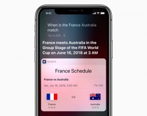 World Cup Coming To Siri On The iPhone And More