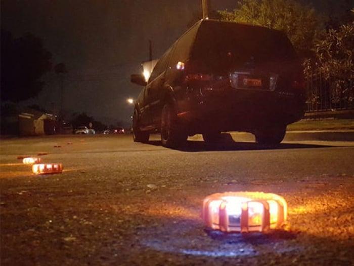 1TAC Roadside LED Safety Disc