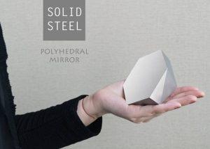 211 Designs Polyhedron Solid Steel Mirror