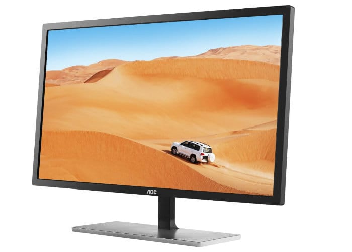 "AOC 31.5"" 1440p IPS FreeSync Monitor"