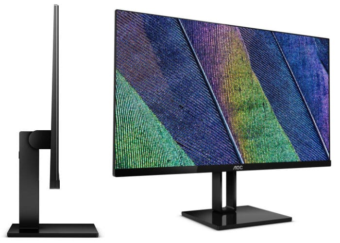 AOC Super-Slim 3-Side Frameless V2 Series Monitors