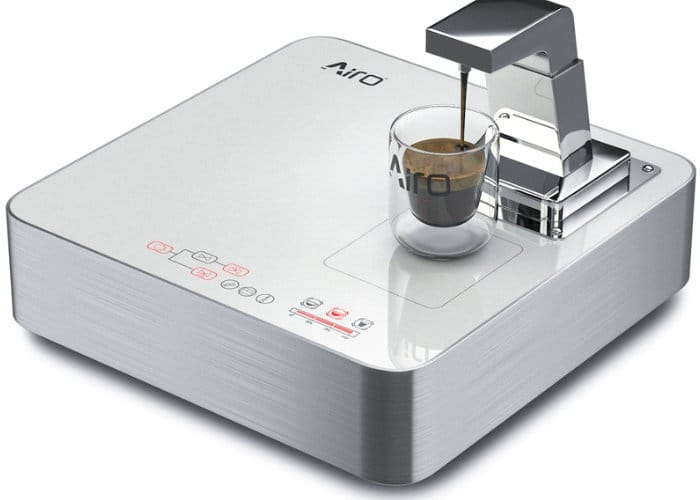Airo Vision+ Coffee Machine And Wireless Charger