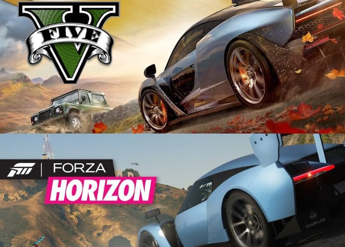 Awesome Forza Horizon 4 Trailer Recreated Inside GTA V