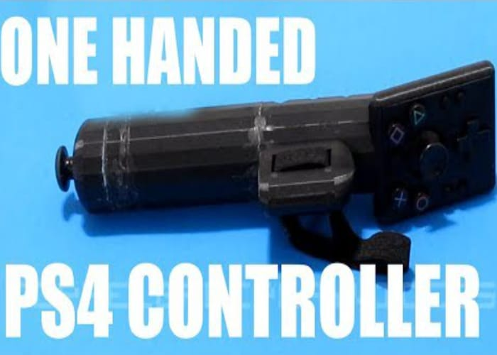 Awesome One-Handed PlayStation 4 Controller