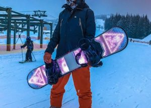 BlizzardLed Snowboard Lighting System