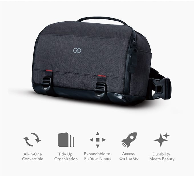 Cross Sling Everyday Gadget Bag