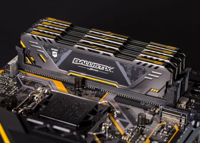Crucial Ballistix Sport AT Gaming Memory