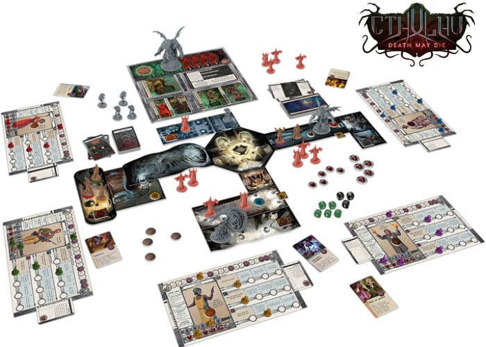 Cthulhu Death May Die Board Game Hits Kickstarter