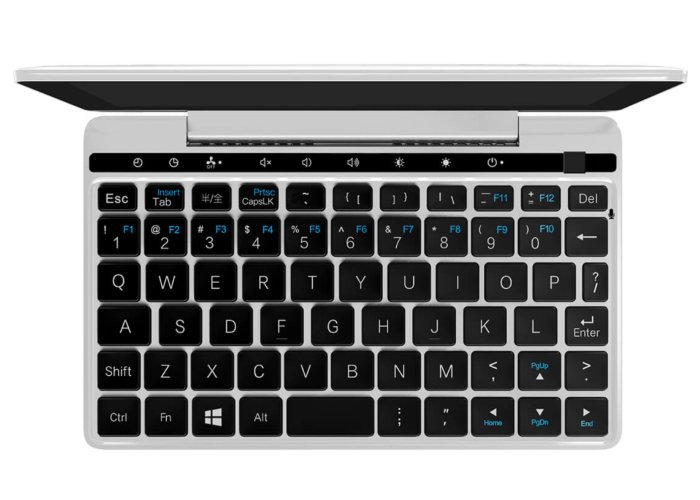 GPD Pocket 2 Laptop Keyboard Design