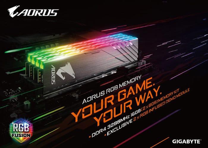 Gigabyte AORUS RGB Memory
