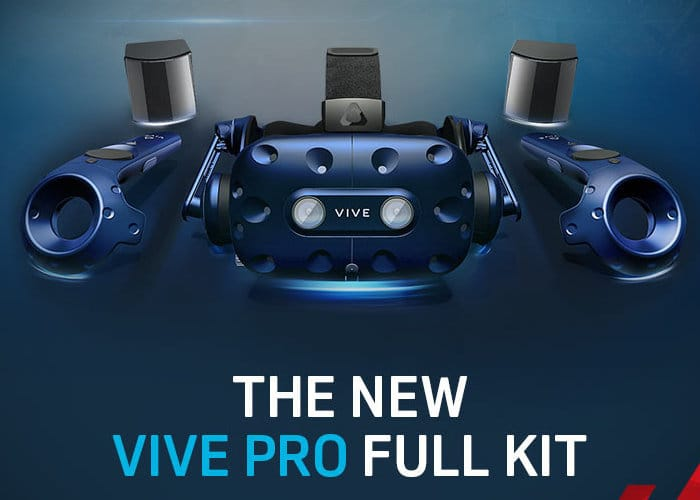 HTC VIVE Pro Full VR Kit