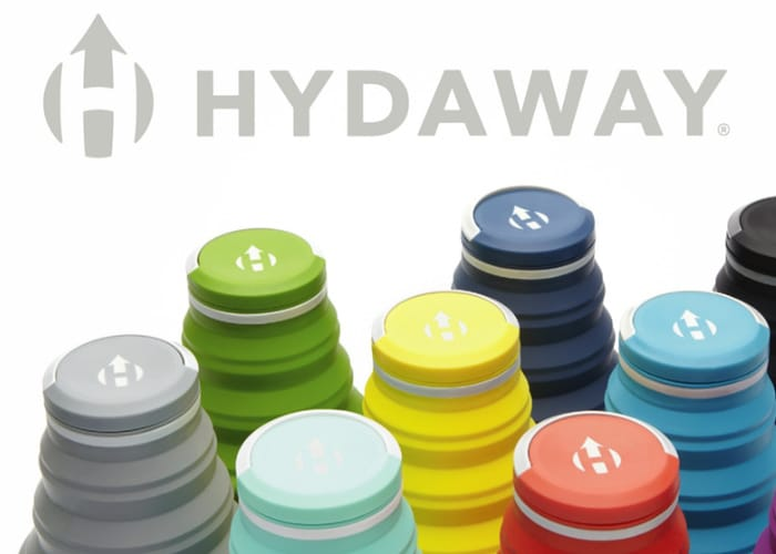 HYDAWAY Reusable Collapsible Water Bottle