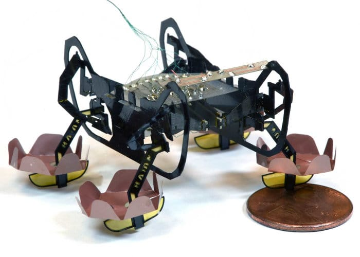 Harvard Ambulatory Microrobot