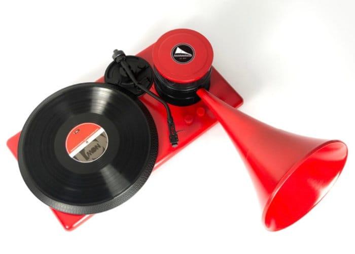 Kozmophone Holographic, Bluetooth Turntable