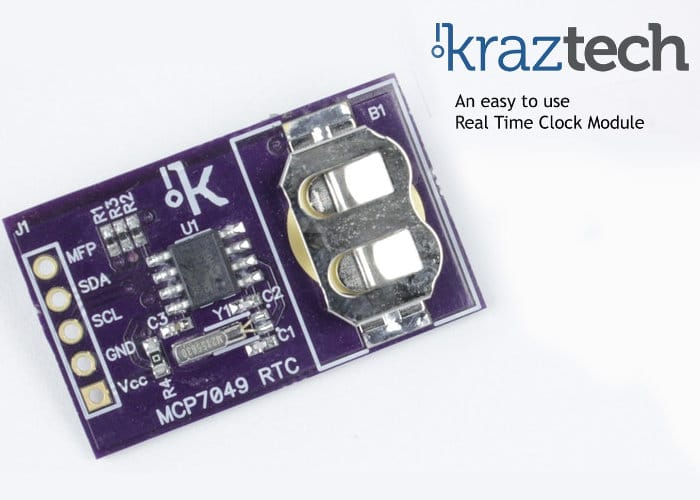 Kraztech Real Time Clock Module