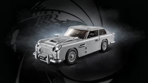Lego Launches New James Bond Aston Martin DB5