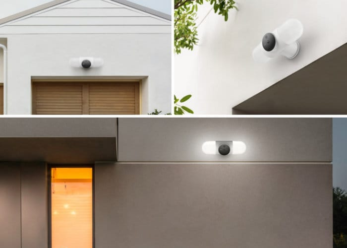 Litmor Capsule Secuirty Camera Floodlight