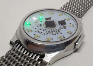 MechWatch Unique Hackable Digital Watch