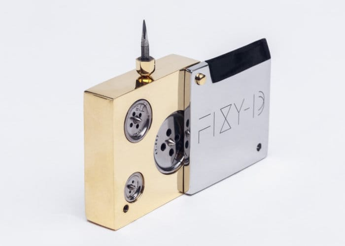 Mechanical Button And Knife Style Box