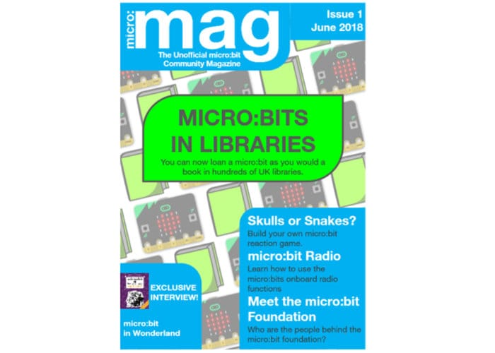 Micro:mag Unofficial Micro:bit Community Magazine