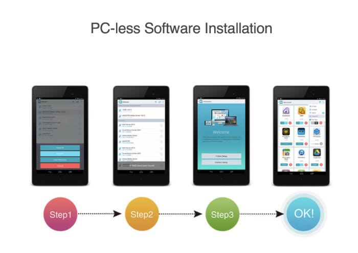 NAS mobile App