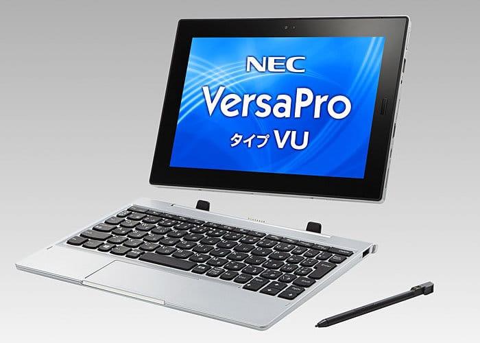 NEC VersaPro V tablet