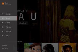 Netflix TV App Gets A New Look