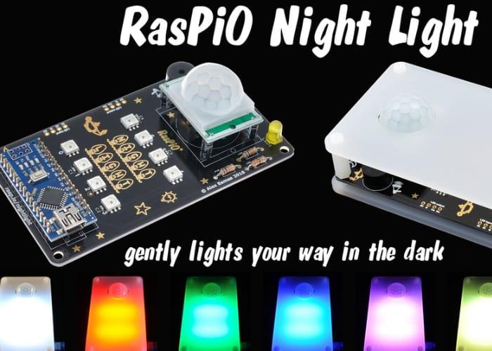 RasPiO Customisable Night Light
