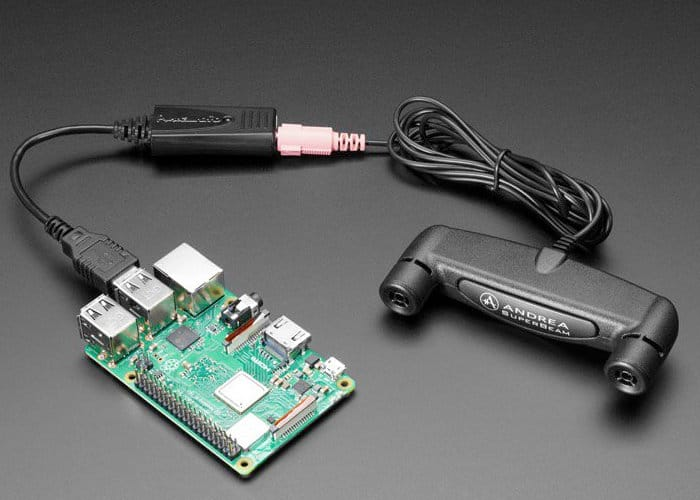 Raspberry Pi 3 PureAudio Array Microphone Kit