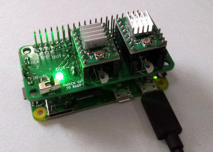 Raspberry Pi Zero Stepper Driver