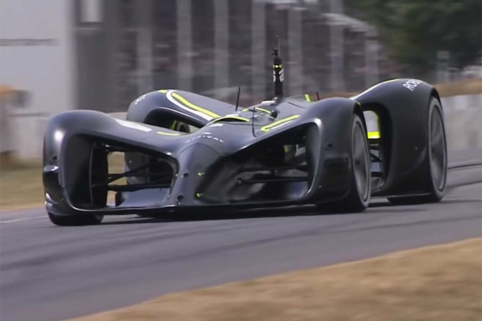 Robocar Self Driving Car Completes Goodwood Hill Climb (Video)