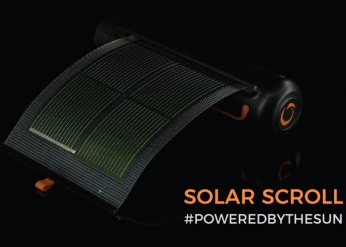 Soul Solar Scroll Solar Charger