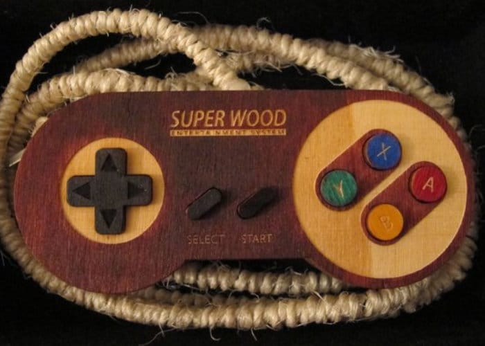 Super Wood Raspberry Pi Games Console
