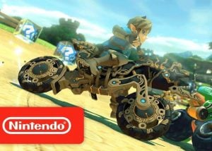Switch Mario Kart 8 Deluxe Update Adds Zelda BotW Kart And More